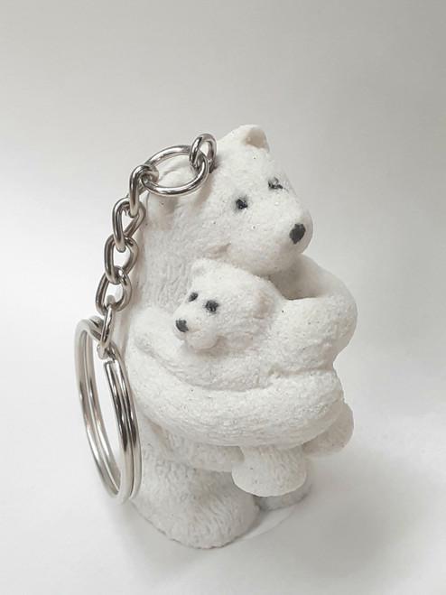 sand bear hug key-chain