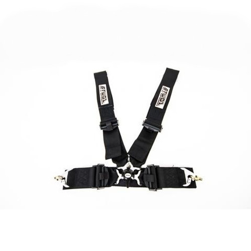 6two1 Harness 4-Point Black