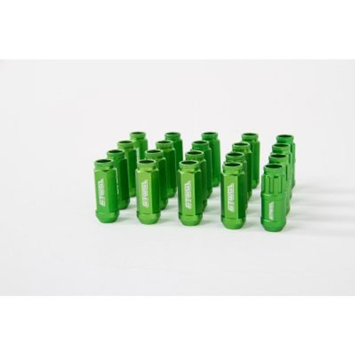 6two1 Lug Nuts Green