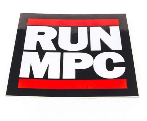 RUN MPC Decal