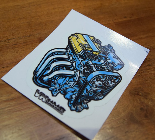 Sticker B-Engine