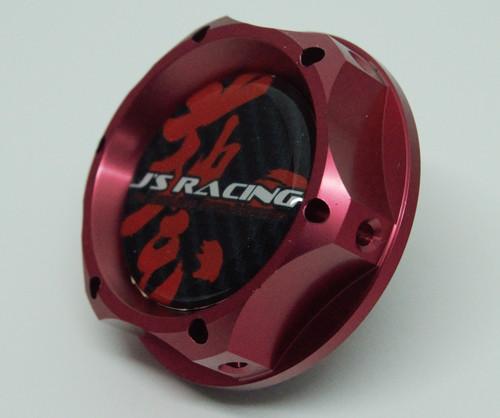 J's Racing Oil Cap Red