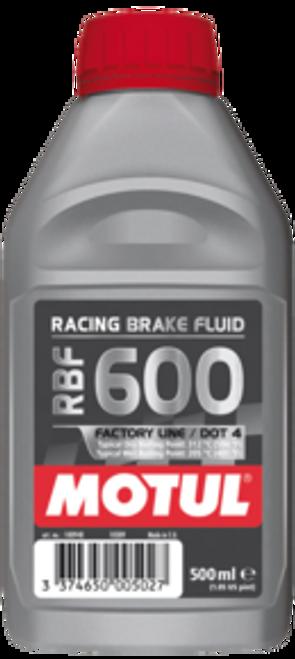 Motul RBF 600 FL Brake & Clutch Fluid 500ml