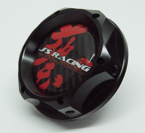 J's Racing Oil Cap Black