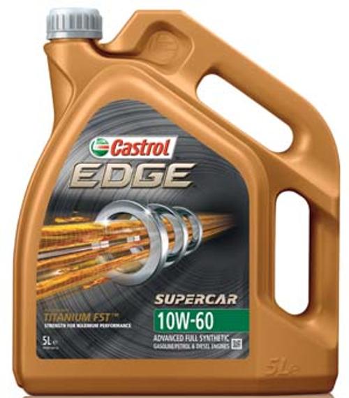 Castrol Edge 10W60 Supercar 5Litre
