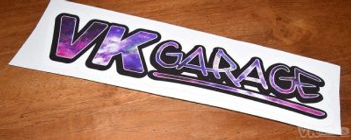 VK-Garage Full Colour Sticker Galaxy