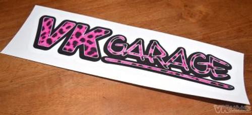 VK-Garage Full Colour Sticker Leopard