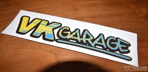 VK-Garage Full Colour Sticker Spoon Themed