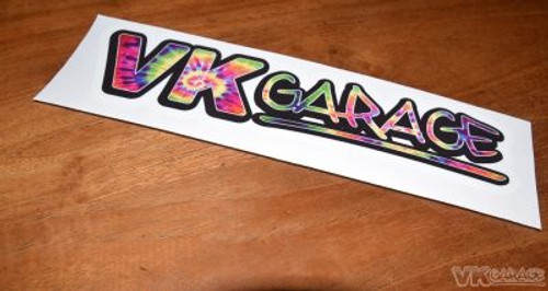 VK-Garage Full Colour Sticker Hippie