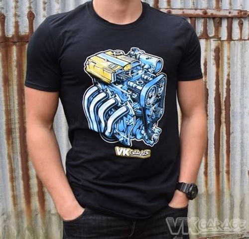VK-Garage T-Shirt Engine