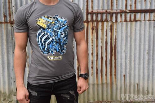 VK-Garage T-Shirt Engine