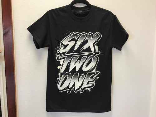 6two1 T-Shirt Black