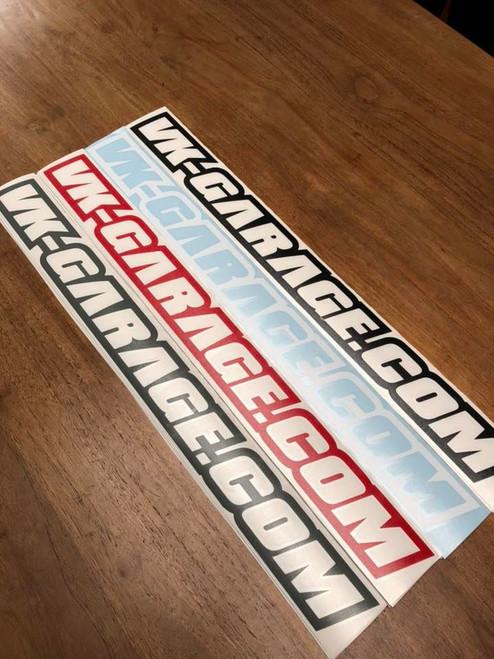 VK-Garage Sticker New Design
