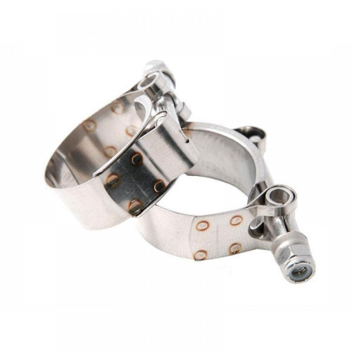 Hybrid Racing 38mm to 42mm Adjustable T-Bolt Hose Clamp (Universal)