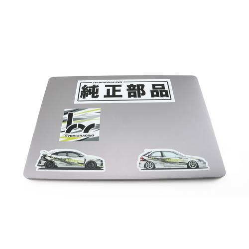 Hybrid Racing Sticker Pack