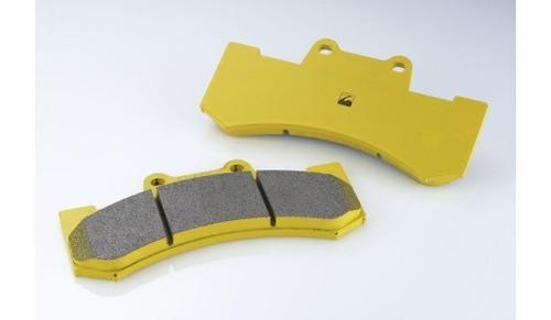 Spoon 6 Pot Monoblock Circuit Brake Pads [Front]