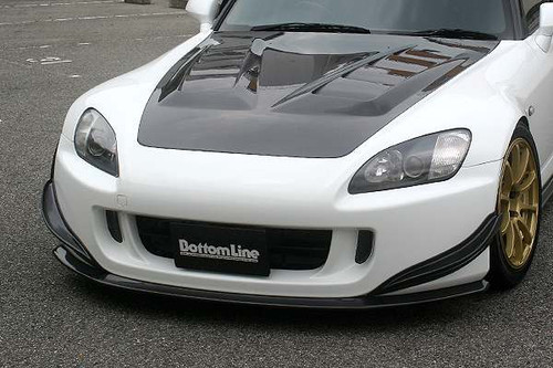 Chargespeed S2000 Front Lip Non Type S [Carbon]
