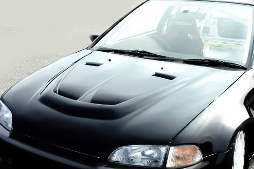 Chargespeed EG Bonnet With Duct [Carbon]