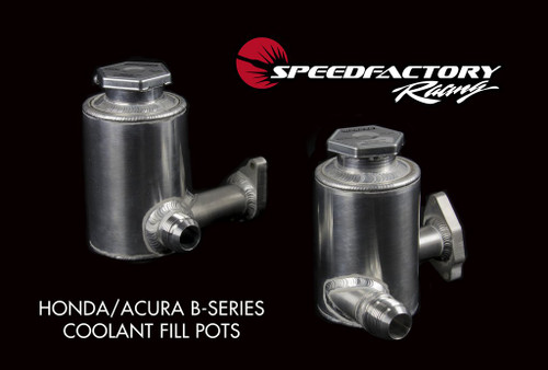 SpeedFactory Honda/Acura B-Series RACE Cooling System Fill Pots