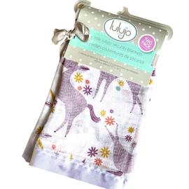 Lulujo | Muslin Security Blanket - Unicorn