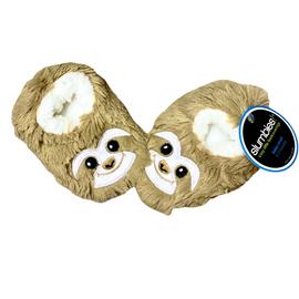 Slumbies | Furry Foot Pal Slippers | Sloth