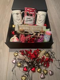 Rainbow Wedding Gift Box Mrs & Mrs