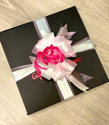 Spoiling Mum - Peach Bow