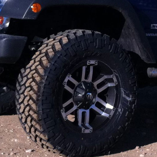 Wheels & Lift Kit Installation