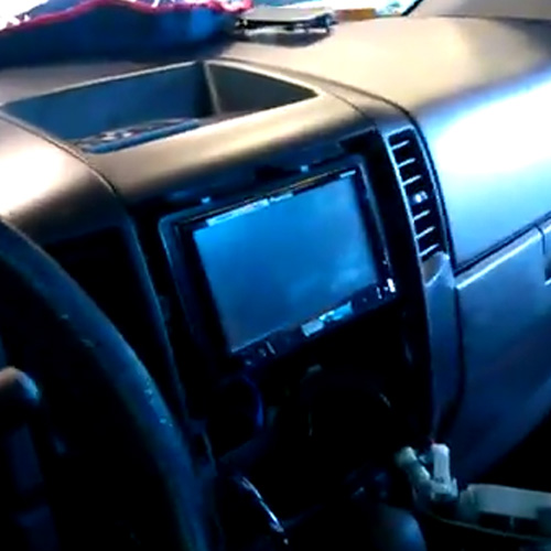 In-Dash DVD Player & Subwoofers Installation