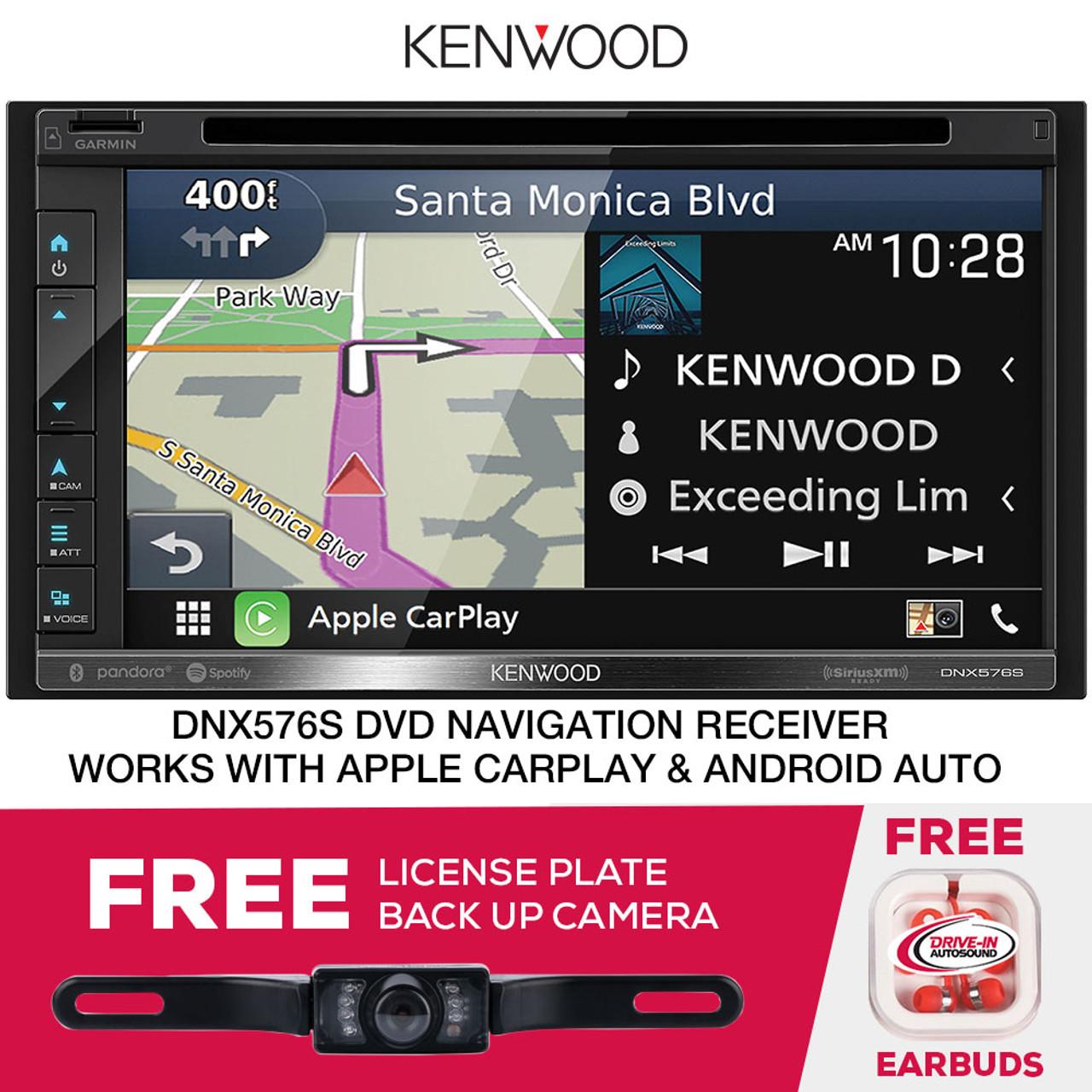 Kenwood DNX576S 6 75