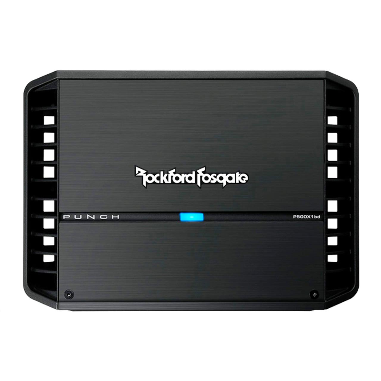 ROCKFORD FOSGATE PUNCH P500X1BD 500W 1 CHANNEL MONOBLOCK CLASS BD CAR AMPLIFIER