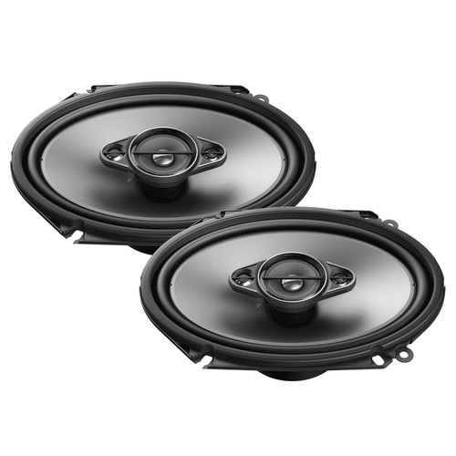 "Pioneer TS-A462F 4/"" x 6/"" 3-Way Coaxial Speaker System 210 Watts Max Power"