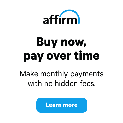 Affirm Payment Options