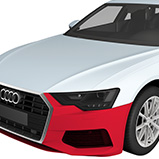 Clear Bra Paint Protection - Front Bumper Colorado Springs and Pueblo Location