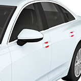 Clear Bra Paint Protection - Door Cups  Colorado Springs and Pueblo Location