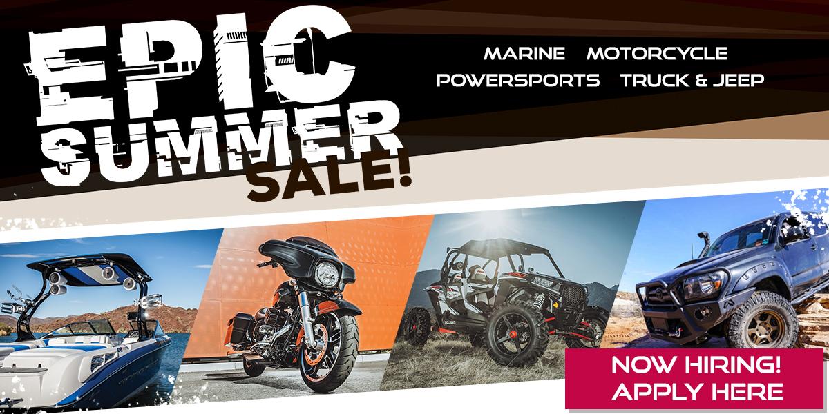 Epic Summer Sale