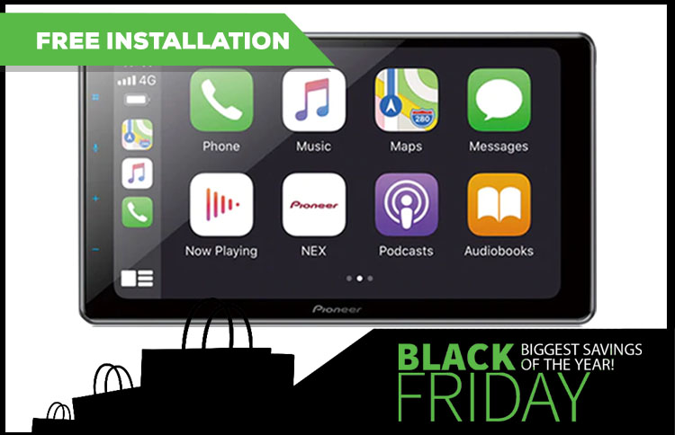 Free Installation on Select Pioneer Receivers