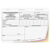 Student Progress Report with Parent Comment Section (167) - 3 part carbonless form with optional Imprint