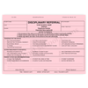 Disciplinary Referral with Parent Signature Line (355) 3 part form with optional imprint