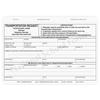 Transportation Request (176) - 4 part carbonless form with optional Imprint