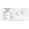 Nurse Referral - 3 part carbonless form with optional Imprint (140)