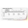 Dress Code Violation - 3 part carbonless form with optional Imprint (141)