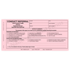 Conduct Referral (159) 3 part carbonless form with Optional Imprint