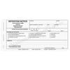 Detention Notice - 3 part carbonless form (160) with optional imprint