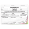 Bilingual Progress Report - 4 part carbonless form with English and Spanish parent copies (209)