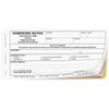 Bilingual Homework Notice - English/Spanish (201) carbonless form