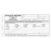 Bilingual Uniform Notice - 4 part carbonless form with English and Spanish parent copies (210)