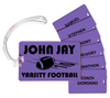 Bag and Player Tags - with mail merge option adding players' names