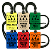 Middle/High School Set with  logo, information, and black lanyards
