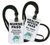 Nurse and Health Office Passes with First Aid Kit background
